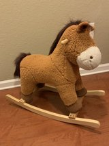 Plush pony rocking horse in Camp Lejeune, North Carolina