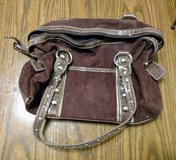 Brown Suede Purse in Bolingbrook, Illinois