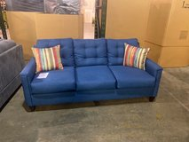 designer denim sofa and loveseat! was 1449.94 now only 745.96 take home with only $39 down! in Nashville, Tennessee