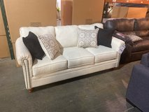 designer keystone ivory brand new sofa and loveseat was $1646 now only $799 in Nashville, Tennessee