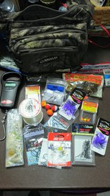 Used Small Tackle Bag with New & USED Tackle included in Fort Polk, Louisiana