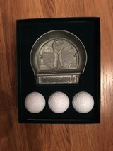 3 Golf Balls and Practice Putter in Bolingbrook, Illinois