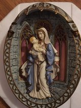 Gracious Mother of Love 3D Collector Plate in Bolingbrook, Illinois