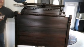 Antique bed in Fort Campbell, Kentucky