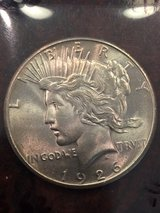 1926 Silver Peace Dollar -was told uncirculated condition in Beaufort, South Carolina