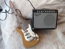 1996 Fender Guitar & Amp toy amp in Plainfield, Illinois