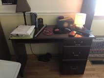 Student desk in Westmont, Illinois