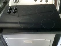 Whirlpool 4 burner smooth glass cooktop in Alamogordo, New Mexico
