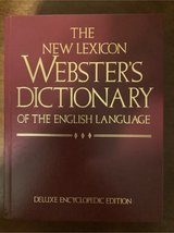 Webster's Dictionary in Fort Polk, Louisiana