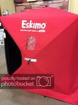 Eskimo 2 Quickfish 2 Insulate Pop-Up Ice Fishing Shanty in Plainfield, Illinois