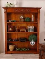 Timeless Bookshelves crafted in Mahagony in Wiesbaden, GE