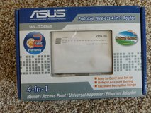 Asus Portable Wireless 4 in 1 Router (new in box) in Sandwich, Illinois