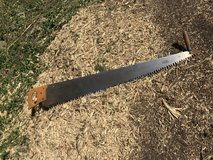 2 Man crosscut tree saw in St. Charles, Illinois