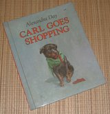 Vintage 1989 Carl Goes Shopping Children's Hard Cover Book in Chicago, Illinois