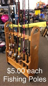 Fishing Poles in Fort Leonard Wood, Missouri