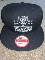 RAIDERS NEW ERA 9FIFTY SNAPBACK HAT in Fairfield, California