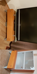 TV Stand and Side Storage in Wiesbaden, GE