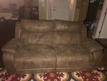 Reclining sofa. in Fort Campbell, Kentucky