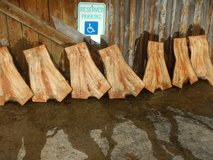 Spalted maple crotch panels in Fort Campbell, Kentucky