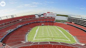 (3) 49ers Vs Packers **Section 305** in Travis AFB, California
