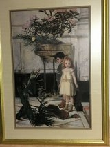 Framed Picture of Boy and Girl in Houston, Texas