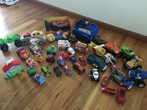 HUGE toy car/truck/rescue vehicle LOT in Yorkville, Illinois