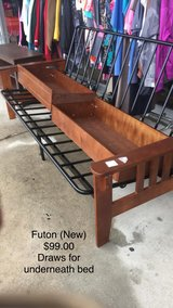 Futon (Draws underneath) New in Fort Leonard Wood, Missouri