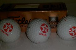 TEXACO Logo on Golf Balls (3 Pcs) in Houston, Texas