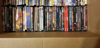 She's making me get rid of my DVD movie collection in Houston, Texas