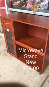 Microwave Cart (New) in Fort Leonard Wood, Missouri