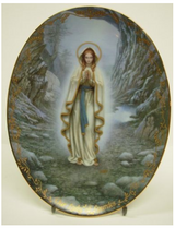 Our Lady of Lourdes Collector Plate in Westmont, Illinois