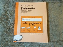Handwriting Without Tears Kindergarten Teachers Guide + Letters & Numbers + Double Line Paper in Byron, Georgia