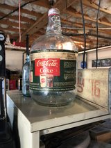 vintage coke syrup bottle in Fort Campbell, Kentucky