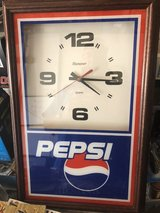 Pepsi clock in Fort Campbell, Kentucky