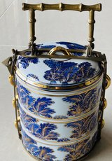 Ceramic Bento Lunch Boxes from Thailand in Okinawa, Japan