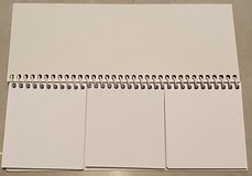 Blank (Bare) Notebooks divided into 3 sections in Okinawa, Japan