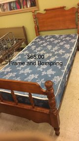 Twin Frame with Boxspring in Fort Leonard Wood, Missouri
