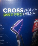 Bissell Crosswave Pet Pro Deluxe Floor Cleaner in Fort Polk, Louisiana