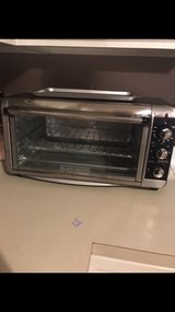 black and decker toaster oven in Plainfield, Illinois