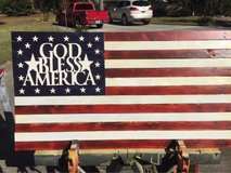 God bless America in Beaufort, South Carolina