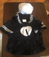 XS Dog Sailor Outfit in Plainfield, Illinois