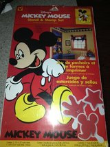 Mickey Mouse Phase Stencil & Stamp Set in Joliet, Illinois