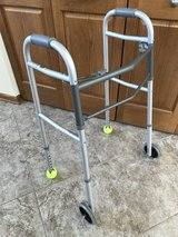 Adjustable Foldable Walker in Yorkville, Illinois