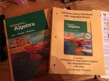 Intermediate Algebra book and Mathlab in Chicago, Illinois