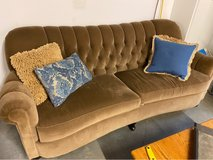 Arhaus couch in Peoria, Illinois
