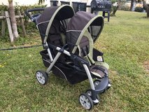 Chico Keyfit double stroller in Okinawa, Japan