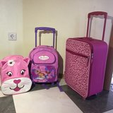 girls backpack and suitcase in Ramstein, Germany