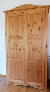 Solid Wood Country Style Closet in Ramstein, Germany