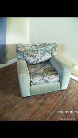 Chair ...Historic route 66 fabric in 29 Palms, California