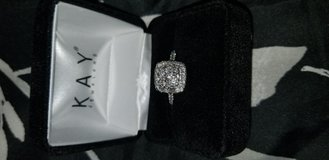 Engagement ring, never worn in Fort Campbell, Kentucky